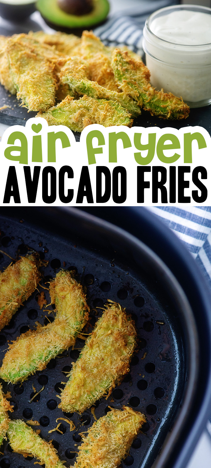 These keto fries are crispy on the outside but have a soft warm center! #airfryer #lowcarb #keto