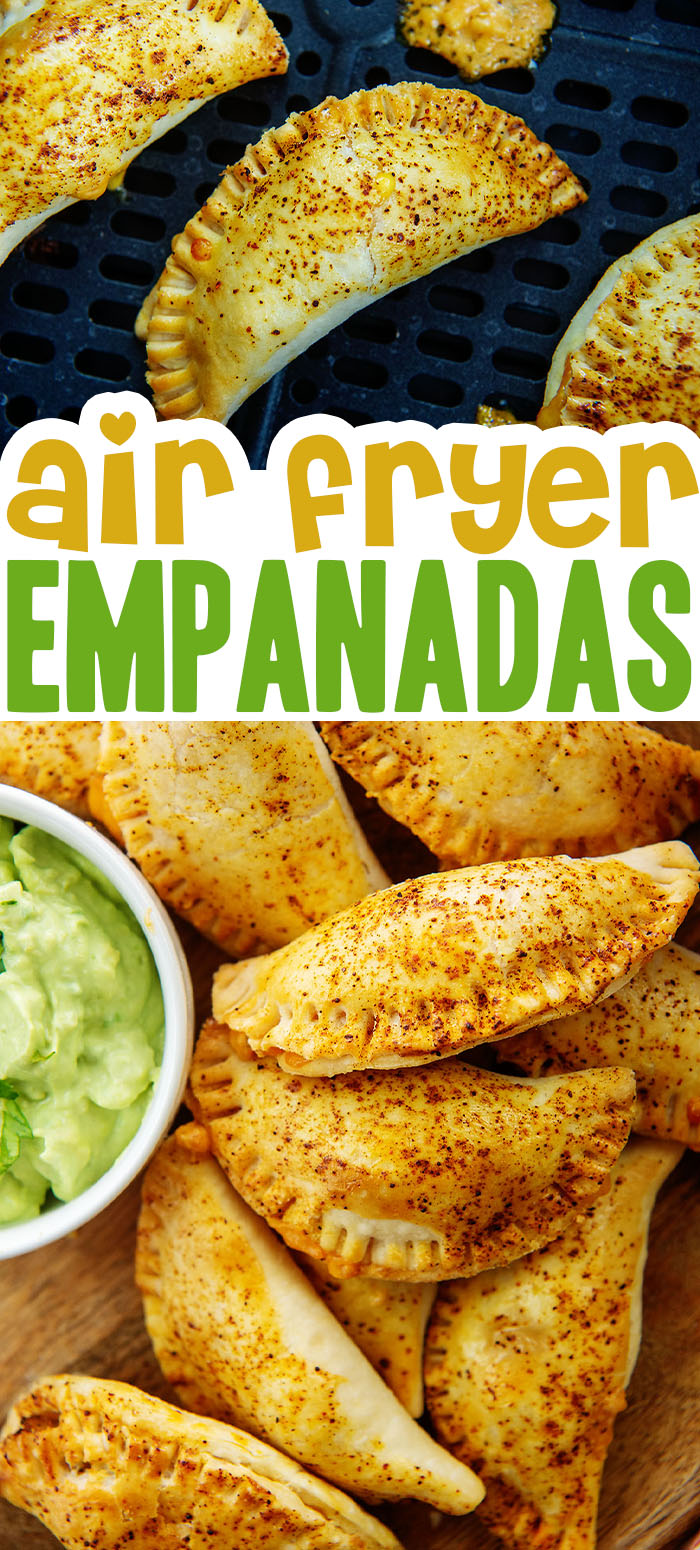 Try these homemade empanadas for a different Mexican-inspired dish you can make in your air fryer!