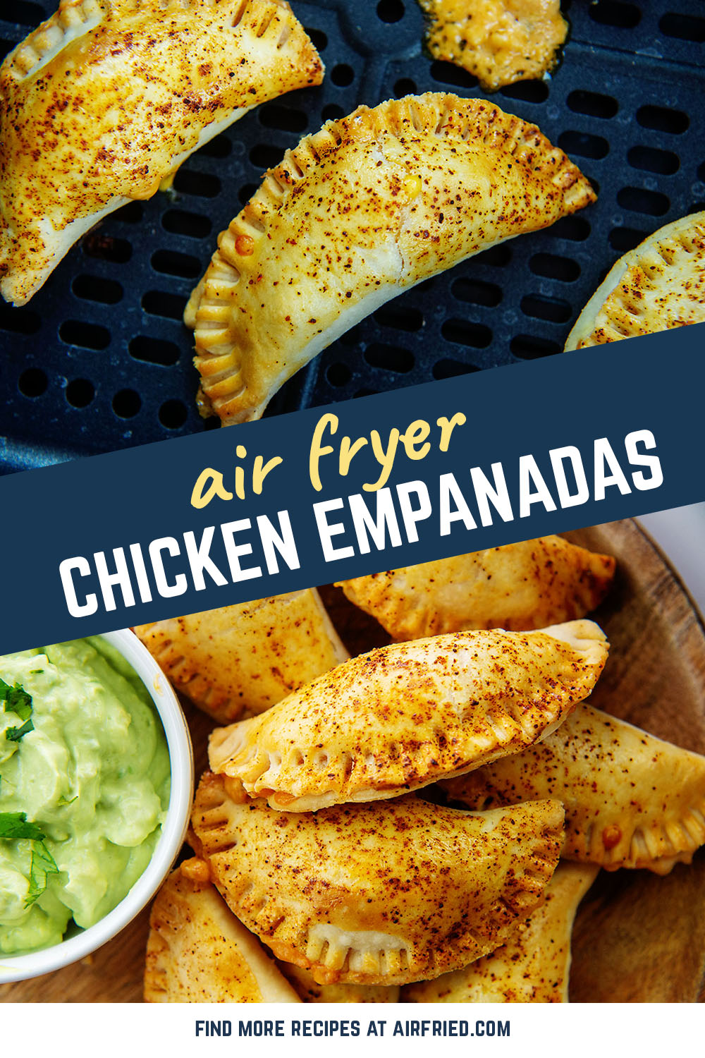 Chicken in cheese packed in a personal-sized pie crust!  These empanadas are easy to make and taste wonderful!