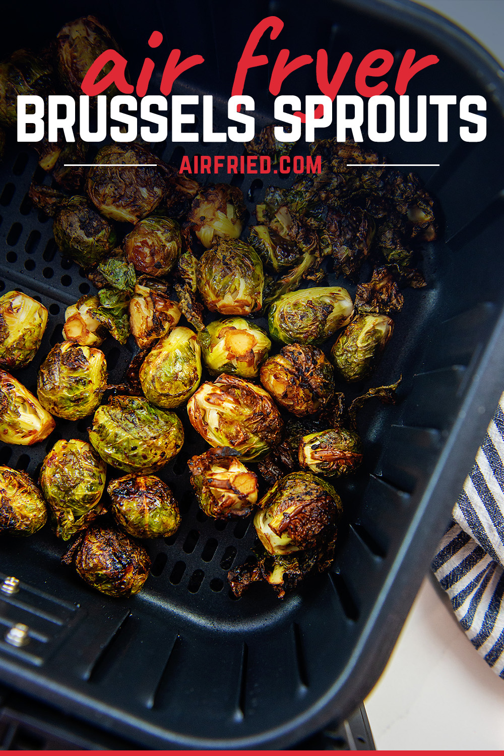 These healthy brussels sprouts are seasoned wonderfully with an Asian inspired blend of flavors!