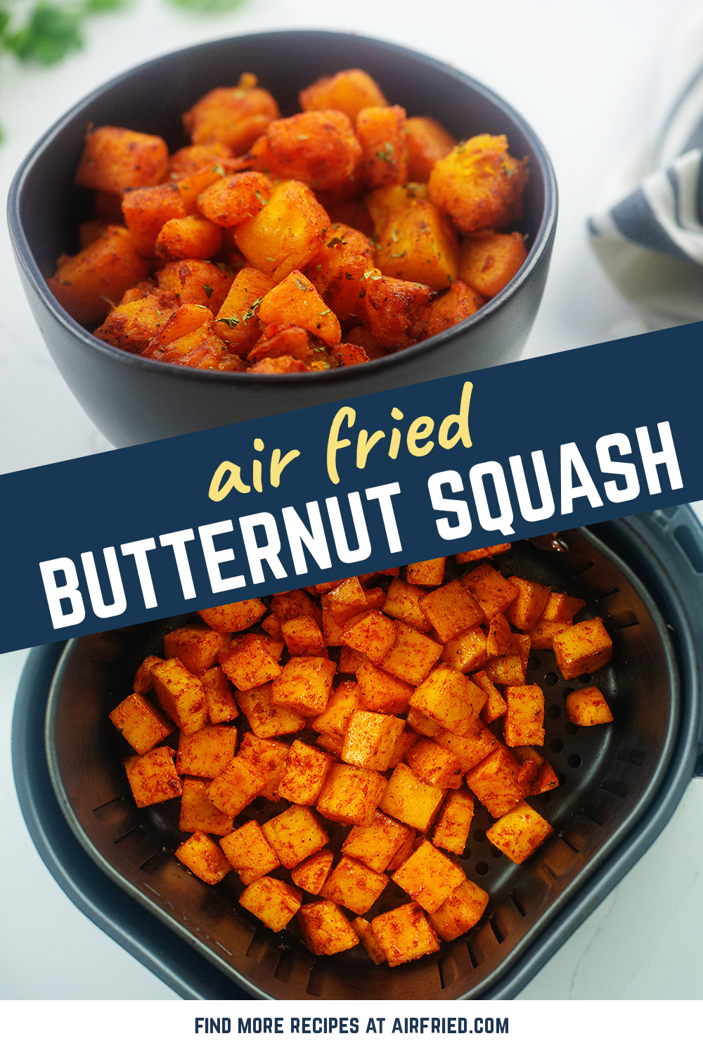 Try this butternut squash recipe for a healthy snack or side dish at your next meal!