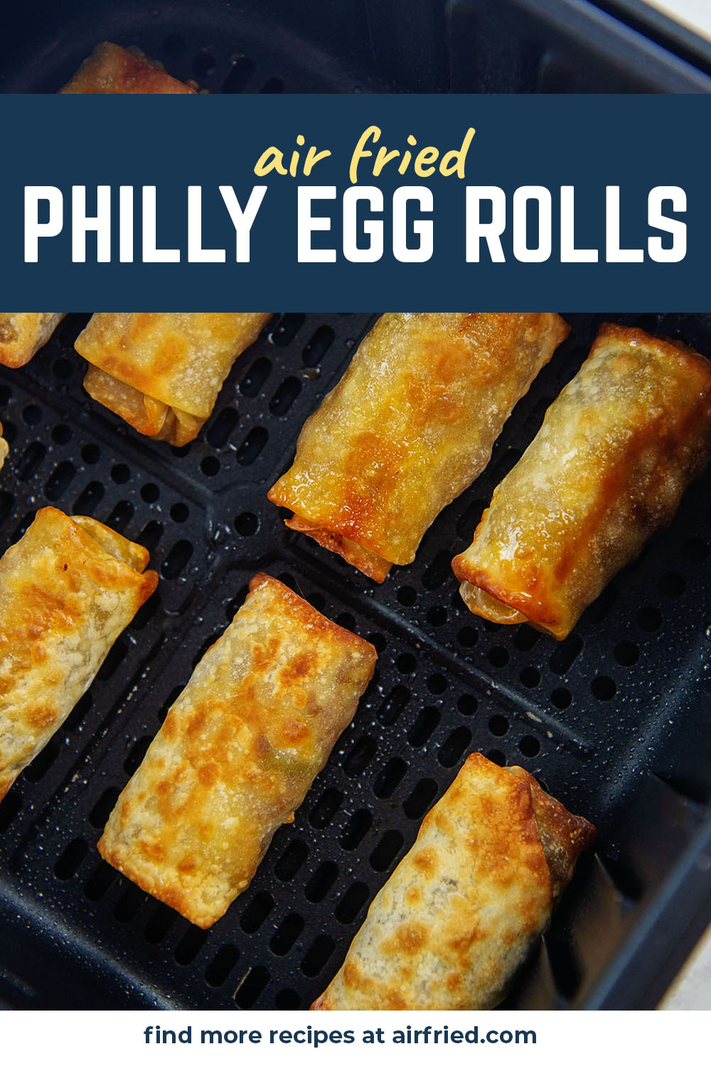 The only way to make the perfect Philly cheesesteak is to put it inside of a crispy egg roll wrapper.